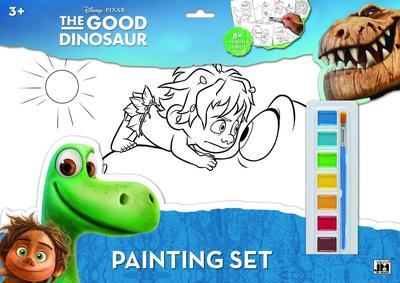 Obrázok Hodný dinosaurus omalovánka