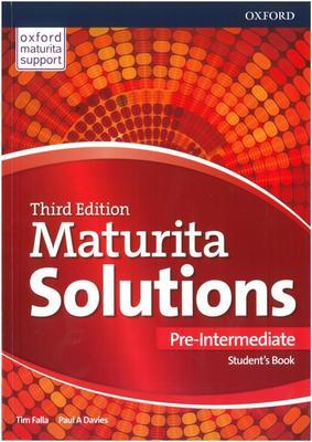 Maturita Solutions 3rd Edition Pre-Intermediate Student's Book