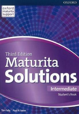 Obrázok Maturita Solutions 3rd Edition Intermediate Student's Book