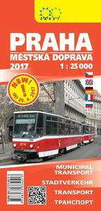 Obrázok Praha městská doprava 1:25T