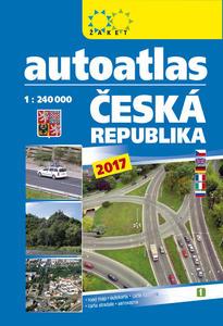 Obrázok Autoatlas ČR 1:240 000 A5 2017