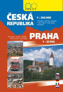 Obrázok Autoatlas ČR + Praha A5