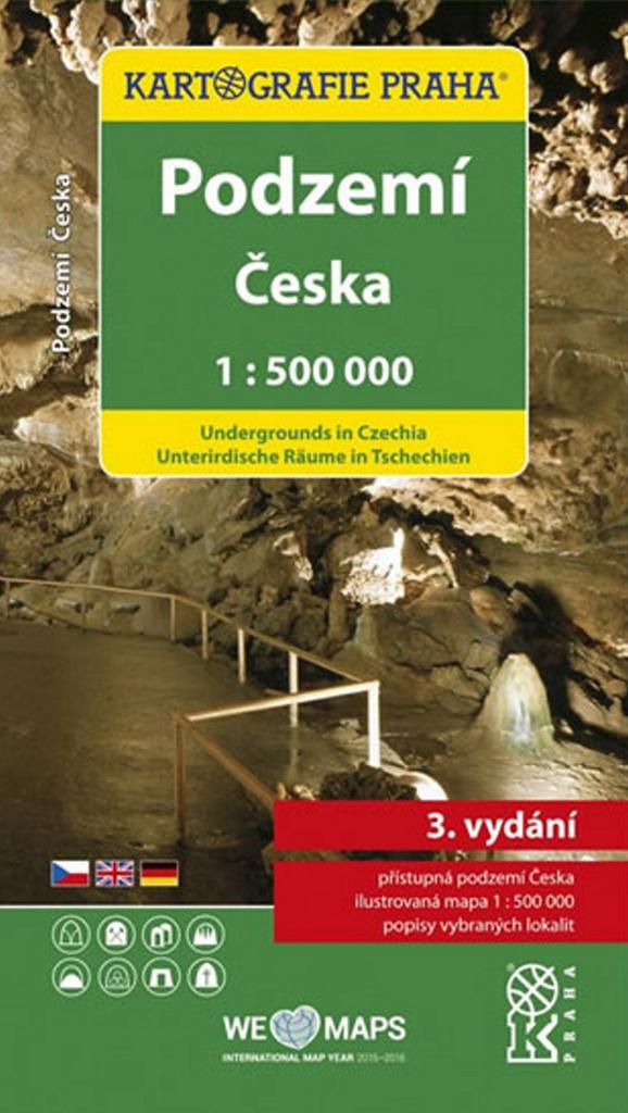 Podzemí Česka 1:500 000