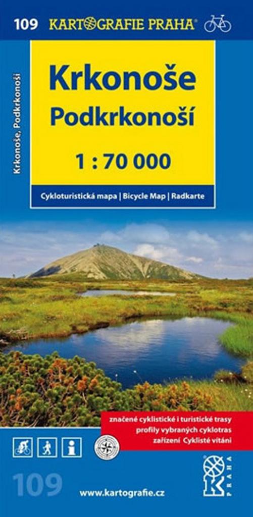 Krkonoše, Podkrkonoší 1:70 000