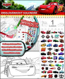 Obrázok Stolní kalendář Auta