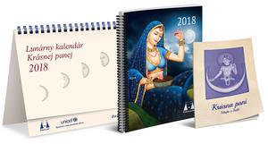 Obrázok Lunárny kalendár Krásnej panej 2018