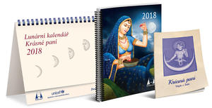 Obrázok Lunární kalendář Krásné paní 2018