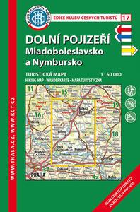 Obrázok KČT 17 Dolní Pojizeří, Mladoboleslavsko a Nymbursko 1:50 000