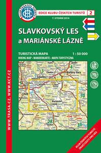 Obrázok KČT  2 Slavkovský les, Mariánské Lázně