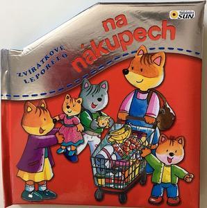 Obrázok Zvířátkové leporelo Na nákupech