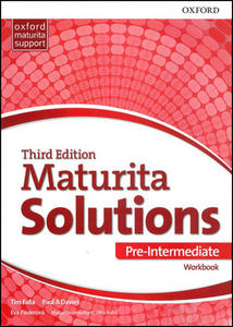 Maturita Solutions 3rd Edition Pre-Intermediate Workbook Czech Edition