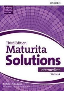 Obrázok Maturita Solutions 3rd Edition Intermediate Workbook Czech Edition