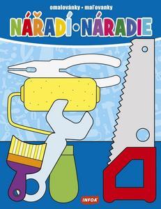 Obrázok Nářadí/Náradie omalovánka