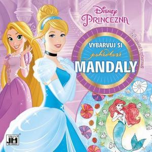 Obrázok Pohádkové mandaly Disney Princezna