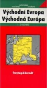 Obrázok Východní Evropa 1:2 000 000