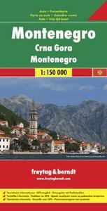 Obrázok Černá Hora 1:150 000