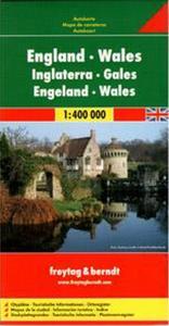 Obrázok Anglie, Wales 1:400 000