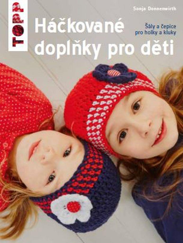 TOPP Háčkované doplňky pro děti - Sonja Donnenwirth