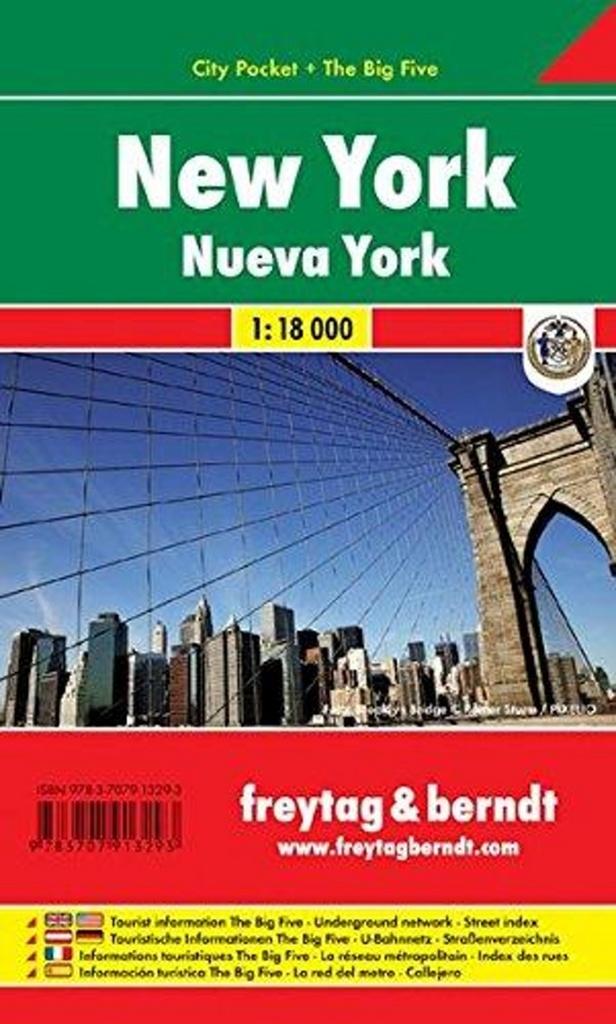 New York 1:18 000