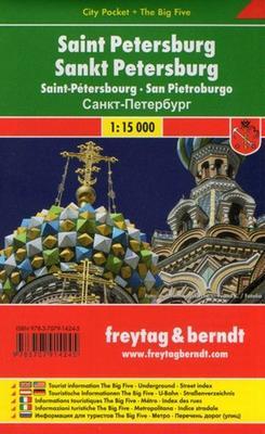 Obrázok Petrohrad 1:12 500