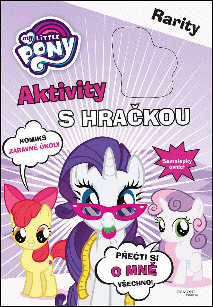 My Little Pony Aktivity s hračkou Rarity