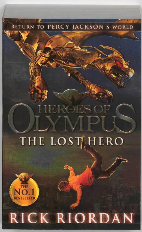 Heroes of Olympus 01. The Lost Hero - Rick Riordan