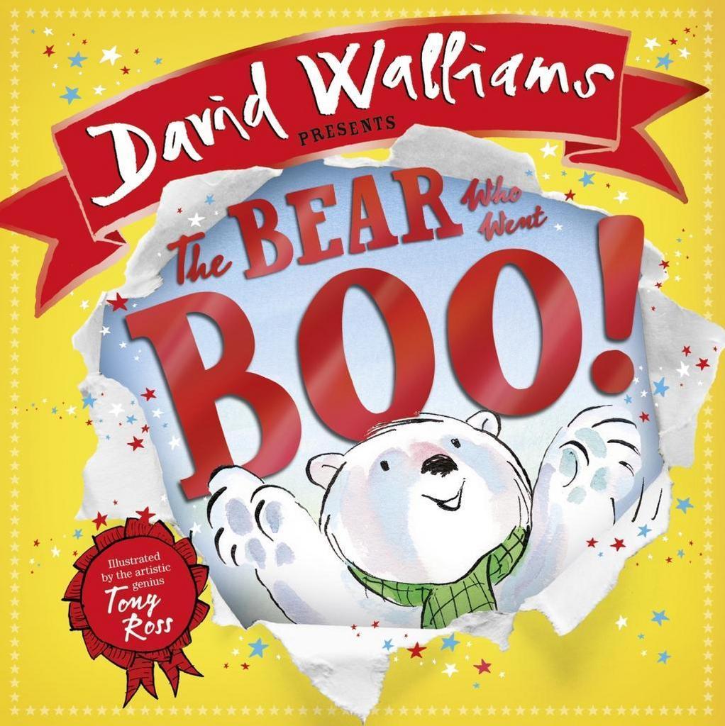The Bear Who Went Boo! - David Walliams