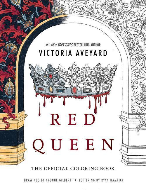 Red Queen: The Official Coloring Book - Victoria Aveyard