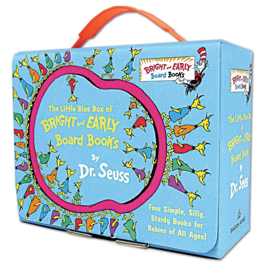 Little Blue Box of Bright and Early Board Books - Dr. Seuss