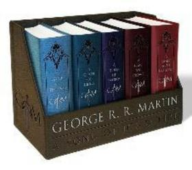 Game of Thrones Leather Cloth Boxed Set - George R.R. Martin
