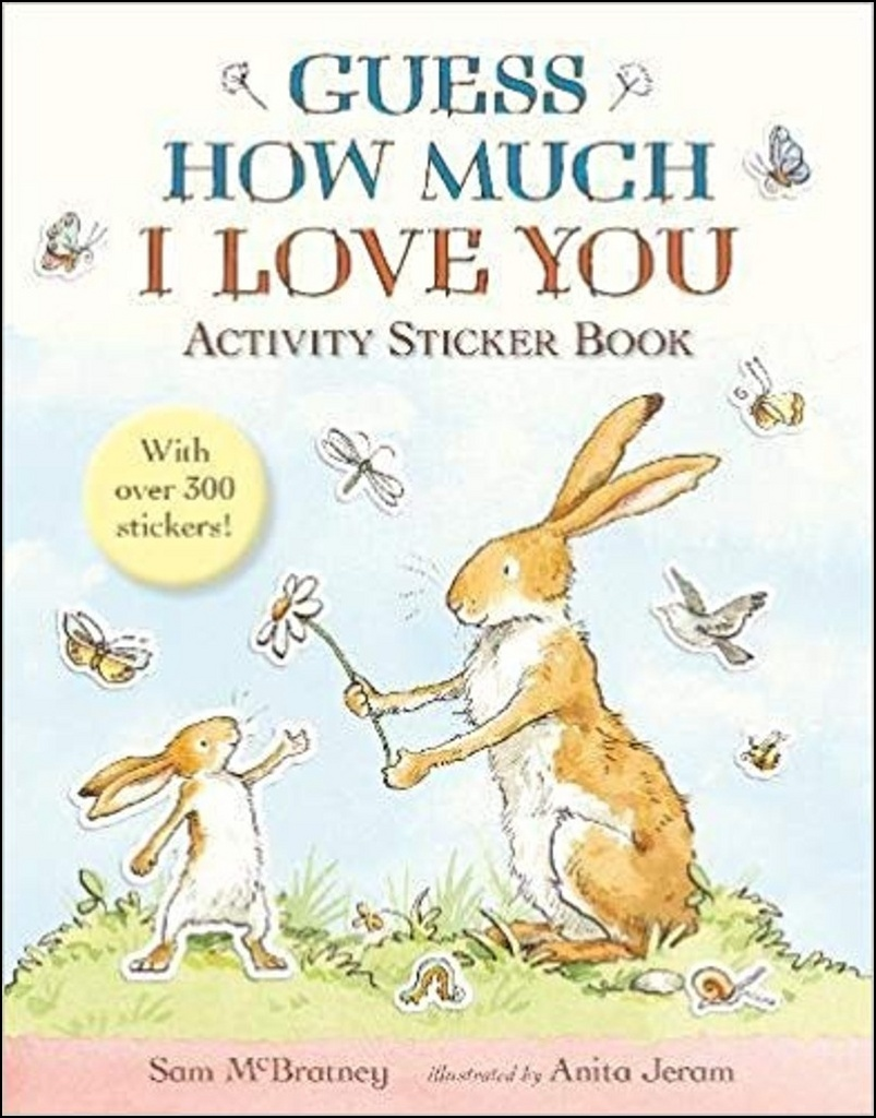 Guess How Much I Love You: Activity Sticker Book - Sam McBratney