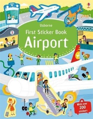 Obrázok First Sticker Book: Airport