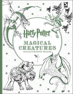 Obrázok Harry Potter Magical Creatures Colouring Book