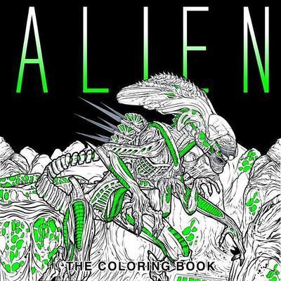 Obrázok Alien: The Coloring Book