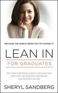 Obrázok Lean In: For Graduates