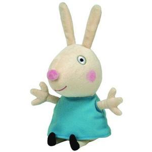 Obrázok Beanie Babies PEPPA PIG Rebecca Rabbit