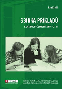 Obrázok Sbírka příkladů k učebnici účetnictví 2017 - 2. díl