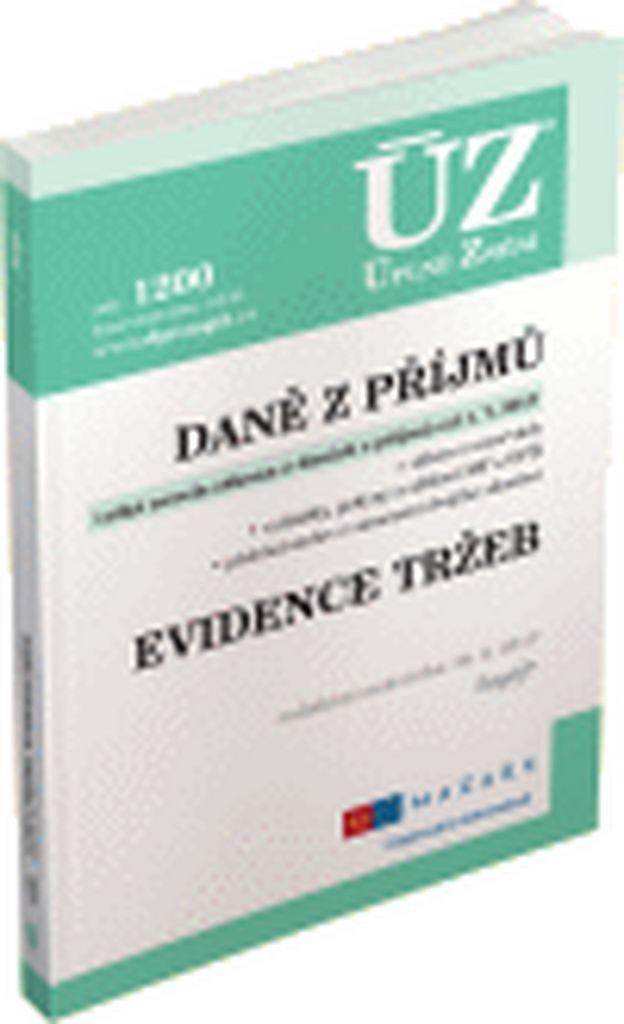ÚZ 1200 Daně z příjmů, evidence tržeb