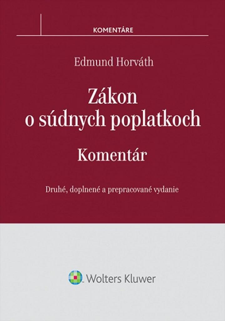 Zákon o súdnych poplatkoch - Edmund Horváth
