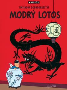 Obrázok Tintin Modrý lotos