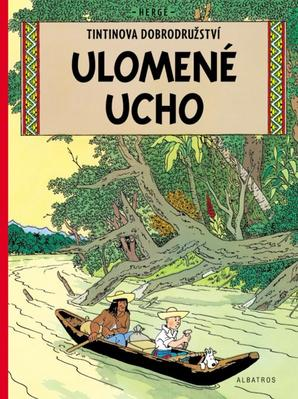 Obrázok Tintin Ulomené ucho