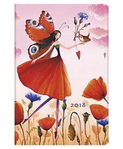 Obrázok Diář Poppy Field 2018 HOR