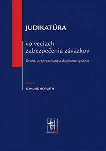 Obrázok Judikatúra vo veciach zabezpečenia záväzkov