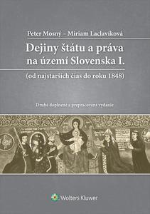 Obrázok Dejiny štátu a práva na území Slovenska I.