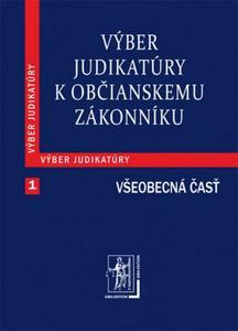 Obrázok Výber judikatúry k Občianskemu zákonníku