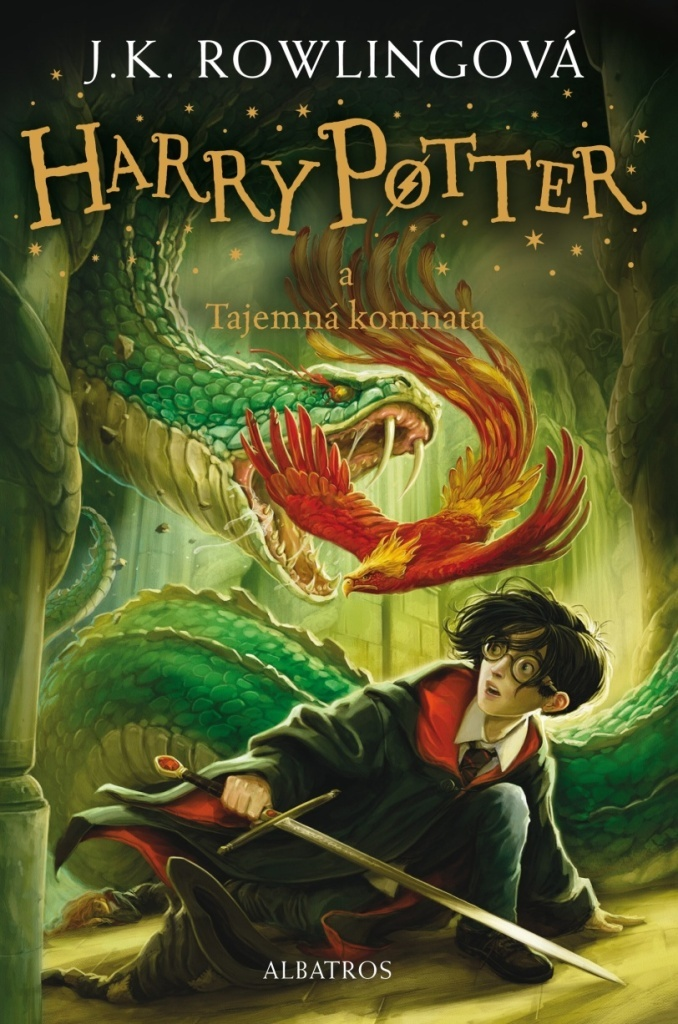 Harry Potter a Tajemná komnata (2. díl) - Joanne K. Rowlingová