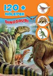 Obrázok Dinosauři + 120 nálepek