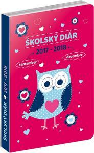 Obrázok Sovy SK - školský diár 2017/2018