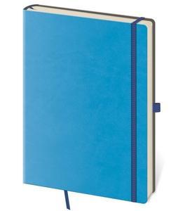 Obrázok Zápisník Flexies M tečkovaný modrý