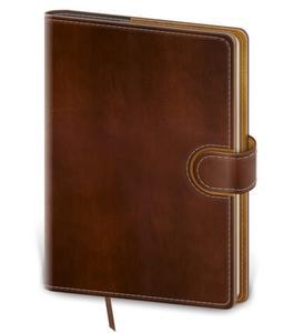 Obrázok Zápisník Flip L linkovaný hnědo/hnědý